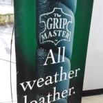 革グリップ復権! 雨でも平気なグリップマスター(The Grip Master)