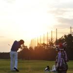 石川遼選手の練習道具。スイングノーム